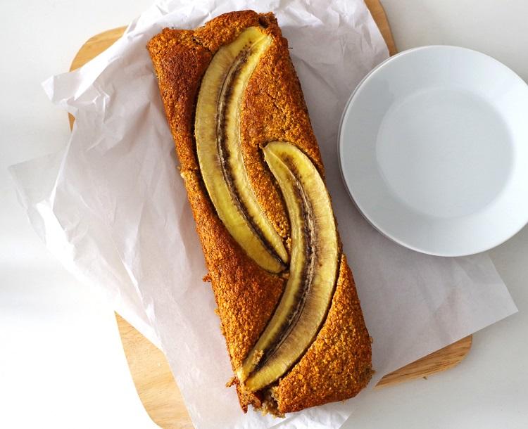 Fit ciasto bananowe